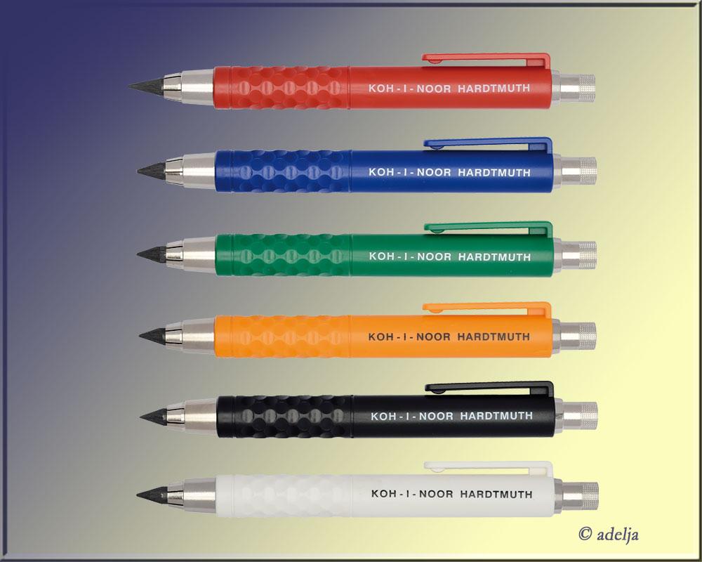 4B 2 mm Fallminen Bleistift Minen 6B HB 8B 2H etc.